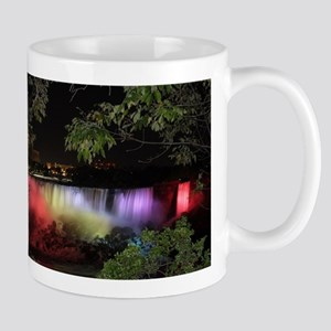 American Falls at night Mugs