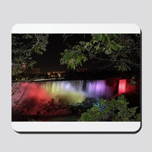 American Falls at night Mousepad