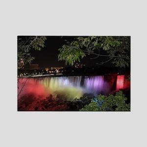 American Falls at night Magnets