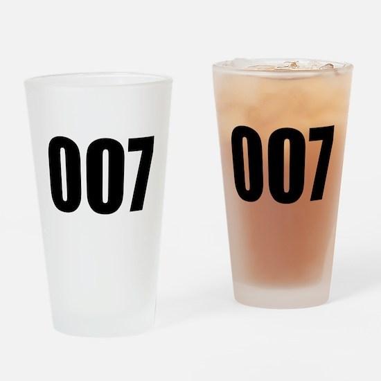007 Drinking Glass