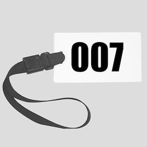 007 Large Luggage Tag