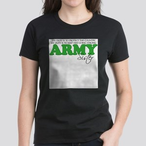 My Duty: Army Sister T-Shirt
