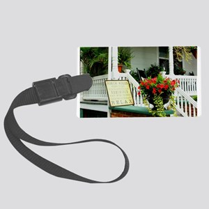 Porch Relaxing Luggage Tag