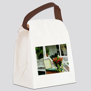 Porch Relaxing Canvas Lunch Bag