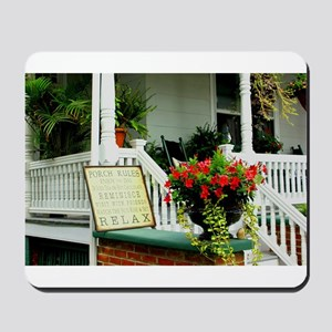 Porch Relaxing Mousepad