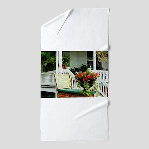 Porch Relaxing Beach Towel