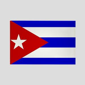 Cuba Rectangle Magnet