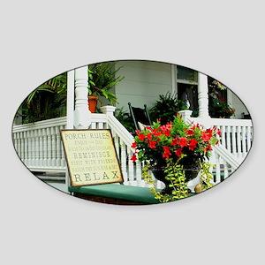 Porch Relaxing Sticker