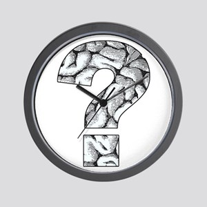 Brainy Question Wall Clock
