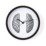 Right/Left Brain Wall Clock
