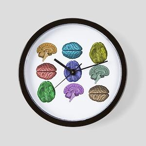 C Brain Wall Clock