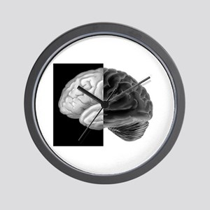 Brain Contrast Wall Clock