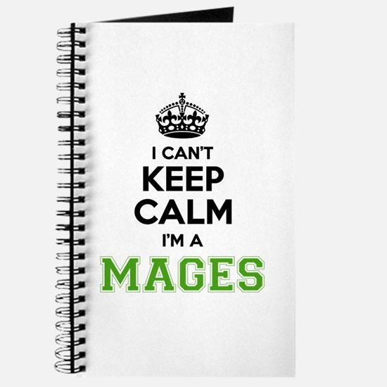 MAGES I cant keeep calm Journal
