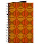 Artwork Orange Fractal Journal