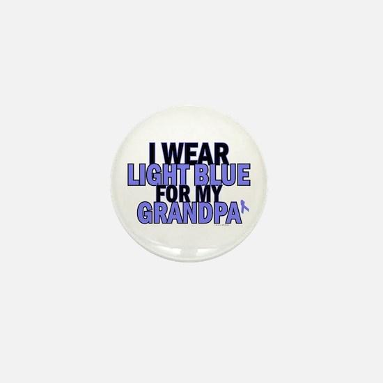 I Wear Light Blue For My Grandpa 5 Mini Button