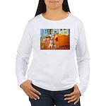 Room / Golden Women's Long Sleeve T-Shirt
