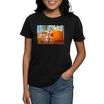 Room / Golden Women's Dark T-Shirt
