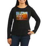 Room / Golden Women's Long Sleeve Dark T-Shirt