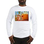 Room / Golden Long Sleeve T-Shirt