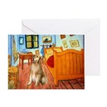 Room / Golden Greeting Card