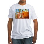 Room / Golden Fitted T-Shirt