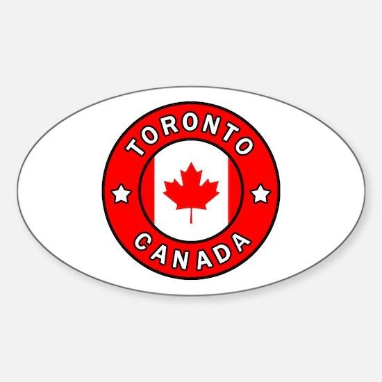 Cute Kingston canada Sticker (Oval)