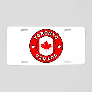 Toronto Canada Aluminum License Plate