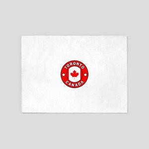 Toronto Canada 5'x7'Area Rug