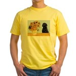 Sunflowers / Lab Yellow T-Shirt
