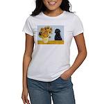 Sunflowers / Lab Women's T-Shirt