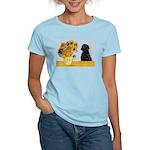 Sunflowers / Lab Women's Light T-Shirt