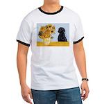 Sunflowers / Lab Ringer T