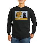 Sunflowers / Lab Long Sleeve Dark T-Shirt