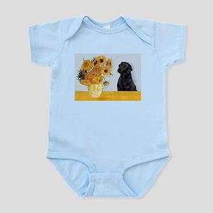 Sunflowers / Lab Infant Bodysuit
