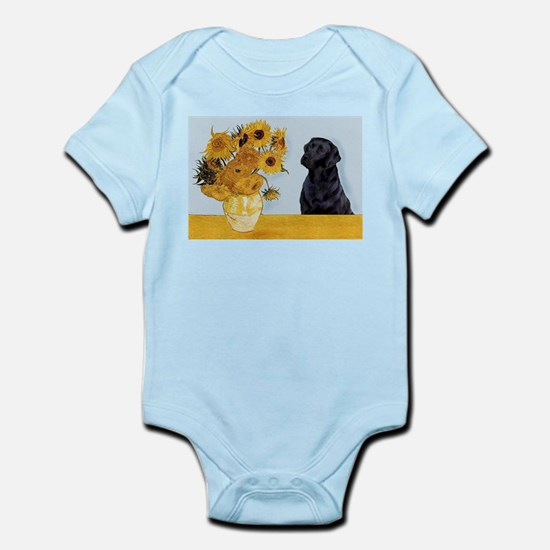 Sunflowers / Lab Infant Bodysuit