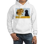 Sunflowers / Lab Hooded Sweatshirt