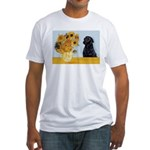 Sunflowers / Lab Fitted T-Shirt