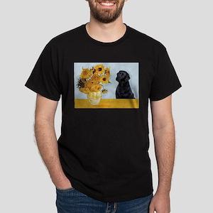 Sunflowers / Lab Dark T-Shirt