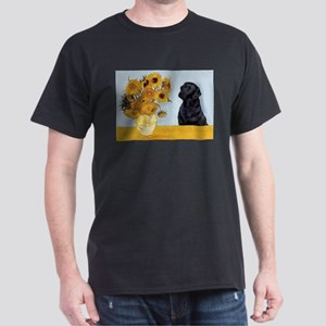 Sunflowers / Lab Dark T-Shirt
