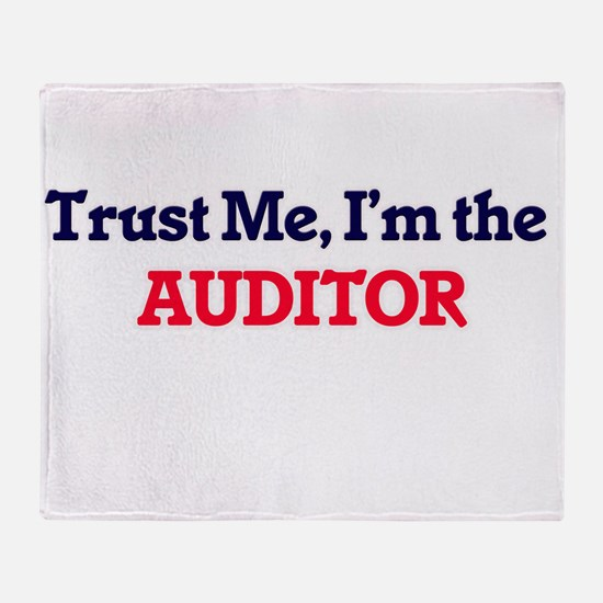 Trust me, I'm the Auditor Throw Blanket