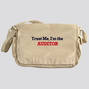 Trust me, I'm the Auditor Messenger Bag