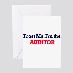 Trust me, I'm the Auditor Greeting Cards