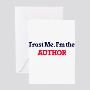 Trust me, I'm the Author Greeting Cards