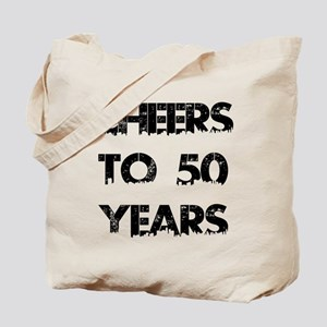 Cheers To 50 Years Designs Tote Bag
