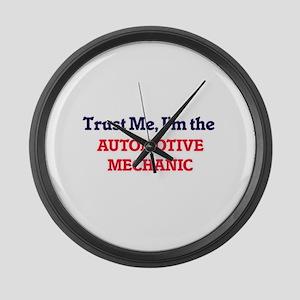 Trust me, I'm the Automotive Mech Large Wall Clock