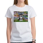 Lilies / Schnauzer Women's T-Shirt