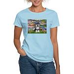 Lilies / Schnauzer Women's Light T-Shirt