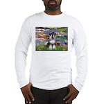 Lilies / Schnauzer Long Sleeve T-Shirt