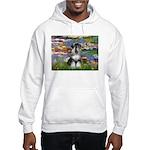 Lilies / Schnauzer Hooded Sweatshirt