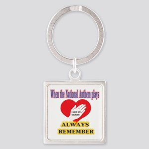 Hand Over Your Heart Keychains